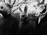 The Wickerman-Sproatly Smith-anthromorphic-bunny-rabbit-goat-mask-A Year In The Country