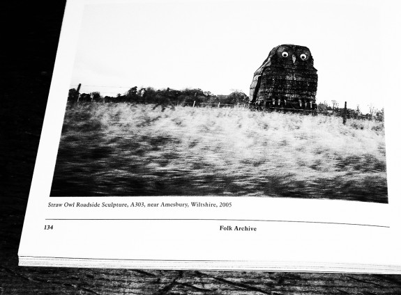 Folk Archive-Jeremy Deller-Alan Kane-A Year In The Country 4-Straw Owl sculpture-A303