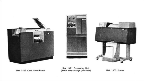IBM 1401-1402-1403-A Users Manual-Jóhann Jóhannsson-A Year In The Country-1b