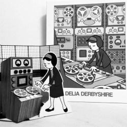Delia Derbyshire Diorama-HeyKidsRocknRoll