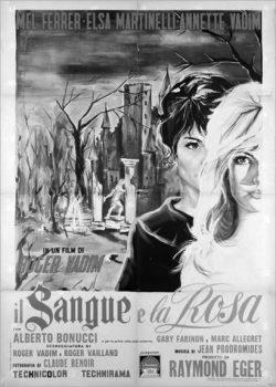 Et Mourir De Plaisir-Blood And Roses-1960-Roger Vadim-Il Sangue e la Rosa poster