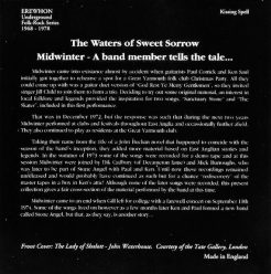 Midwinter-The Waters Of Sweet Sorrow-Erewhon-Kissing Spell-acid psych underground folk-3