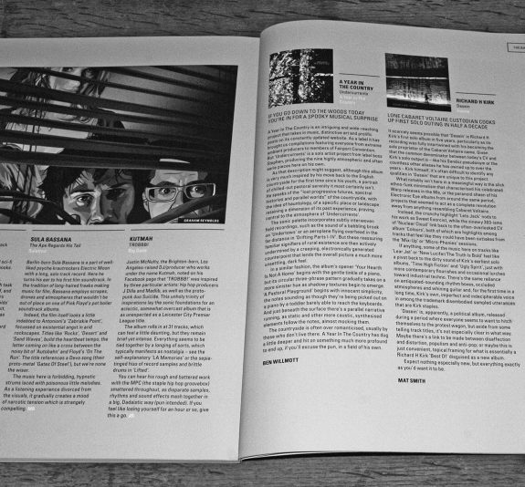 Undercurrents-A Year In The Country album review-Electronic Sound magazine-issue 32