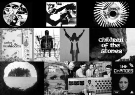 A Year In The Country book-visual accompaniment-collage-Ghost Box Records-Broadcast-The Wicker Man-The Children of The Stones-The Changes