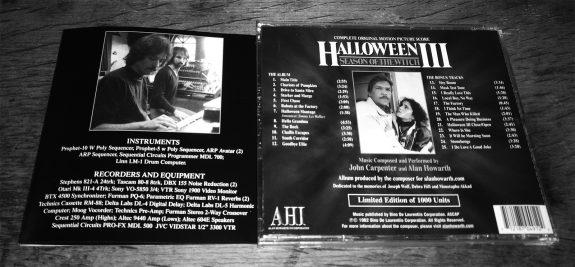 Halloween III-complete soundtrack-John Carpenter-Alan Howarth-1