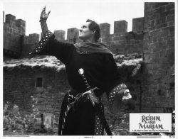 Robin and Marian-1976-Richard Lester-Robert Shaw-lobby card-castle