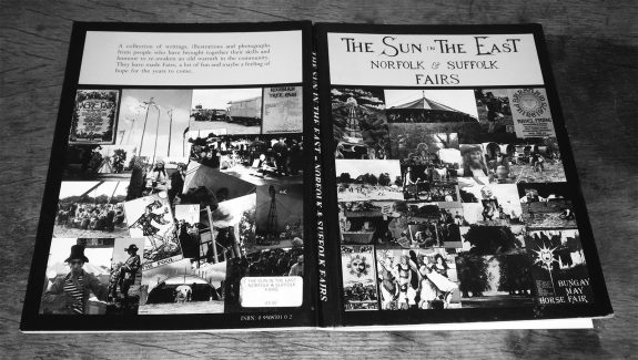 Richard Barnes-The Sun in the East-British festival book-1983-Norfolk and Suffolk Fairs-Albion Barsham-8-cover