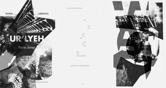 Paolo Javier-Listening Center-Texte und Tone-Ur-Lyeh