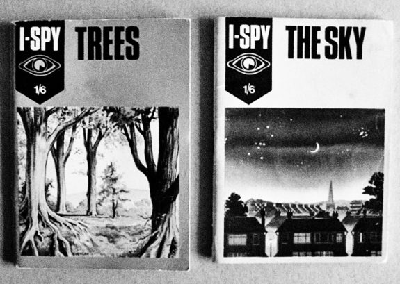 I-Spy books-Trees-The Sky