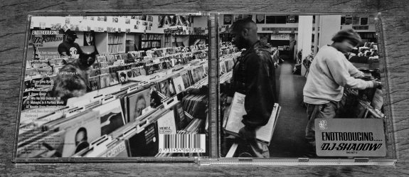 DJ Shadow-Entroducing-CD opened-gatefold