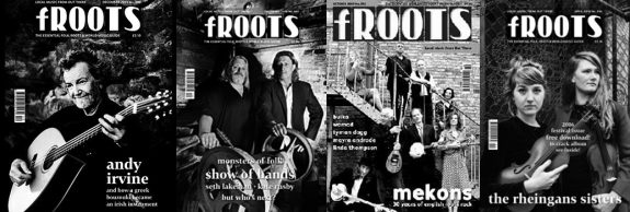 froots magazine covers-andy Irvine-show of hands-mekons-the rheingans sisters