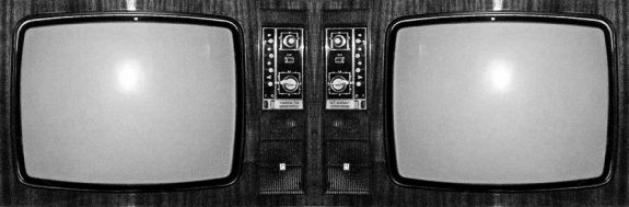 1970s television set