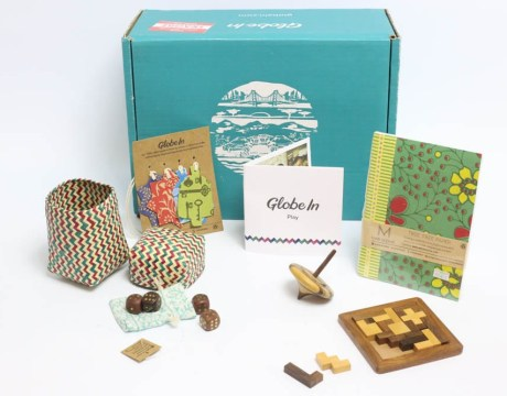 GlobeIn Artisan Boxis a monthly subscription box featuring favorite products from global artisans.
