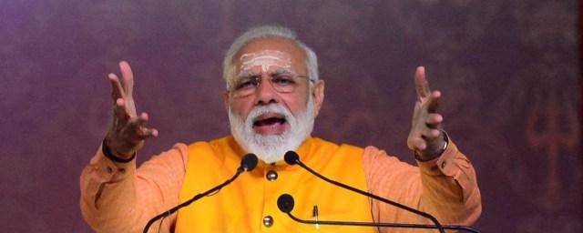 INDIA-RELIGION-HINDU-KUMBH-MELA-MODI