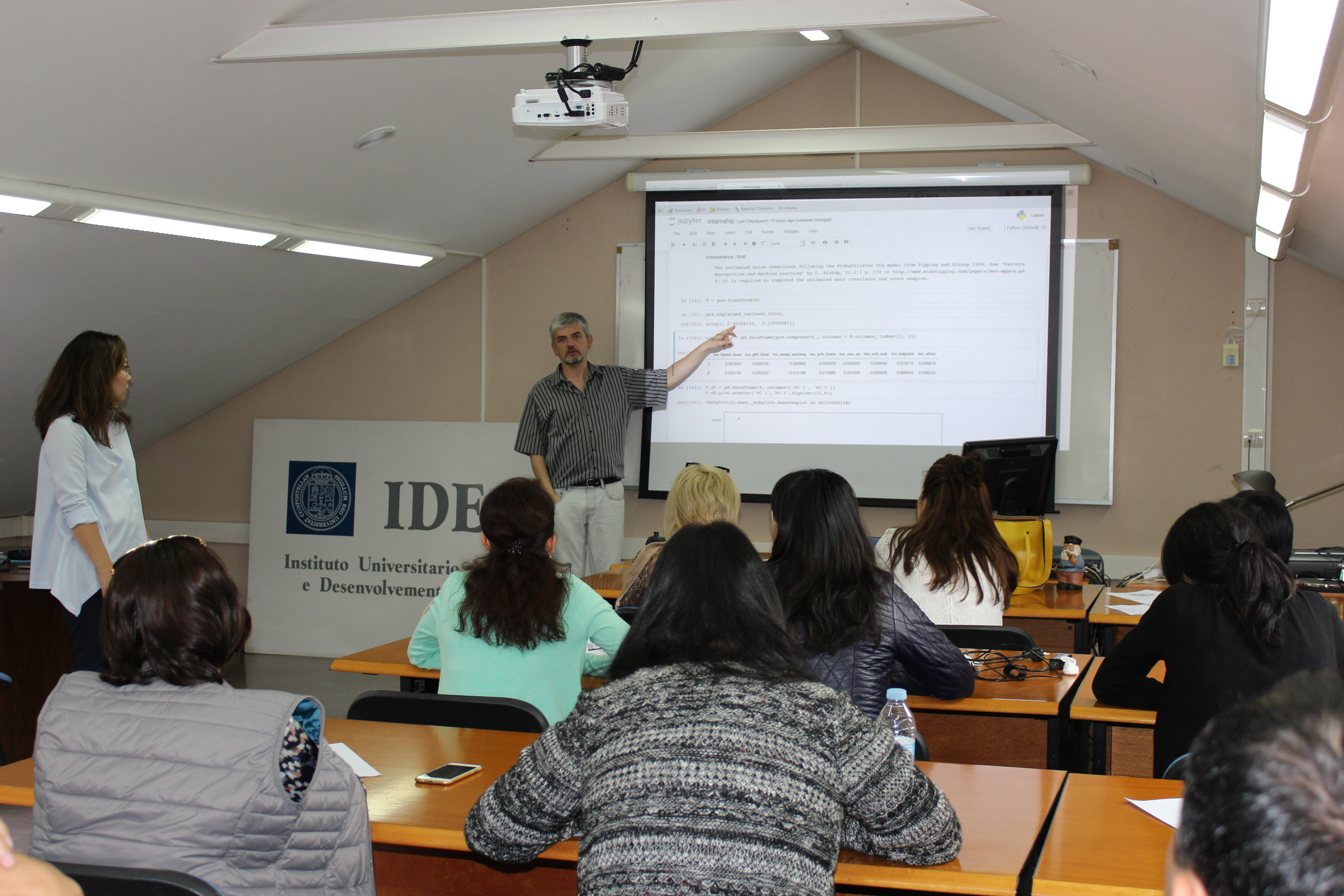 Students from Narxoz University attending research methodology training:  June 4th – June 17th