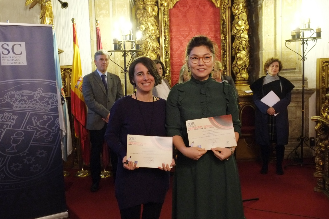AYeconomics received the Female Enterpreneur Award (November, 2017)