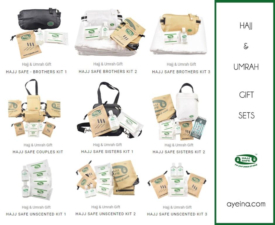 ayeina hajj safe products for hajj and umrah