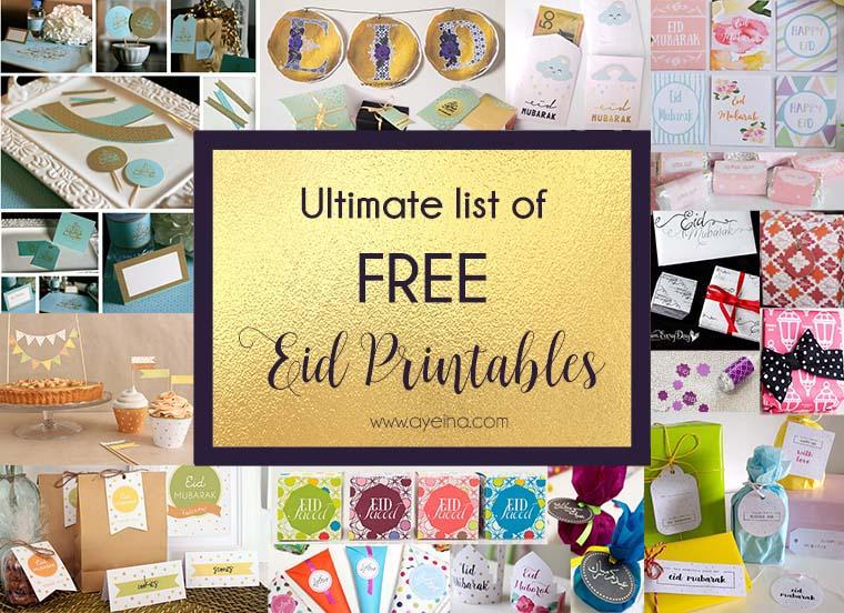 Umrah Banner: Ultimate List Of FREE Eid Printables