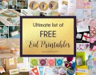 Ultimate List of FREE Eid Printables