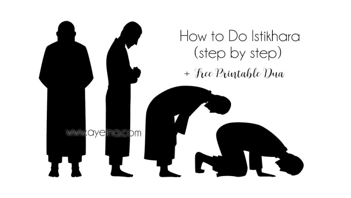 Do's and Don'ts of Istikhara (+FREE dua printable)