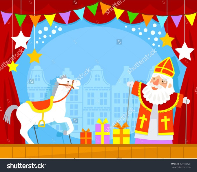 stock-photo-puppet-show-with-sinterklaas-and-his-white-horse-494188420