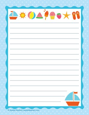 Free printable writing paper