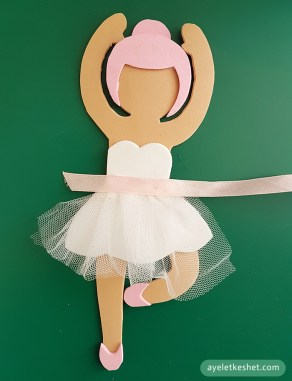 How to make a foam sheet dancer - step 6