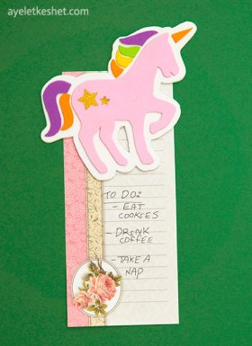 unicorn craft from foam sheets