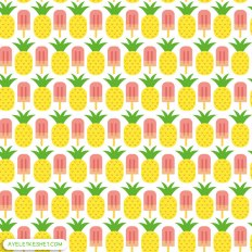 free summer printables - pattern paper 4