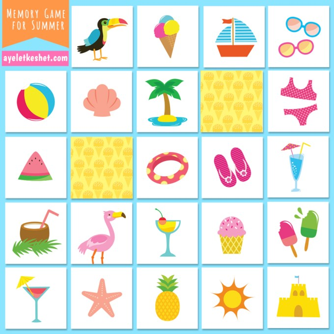 It's just a picture of Juicy Memory Games Printable