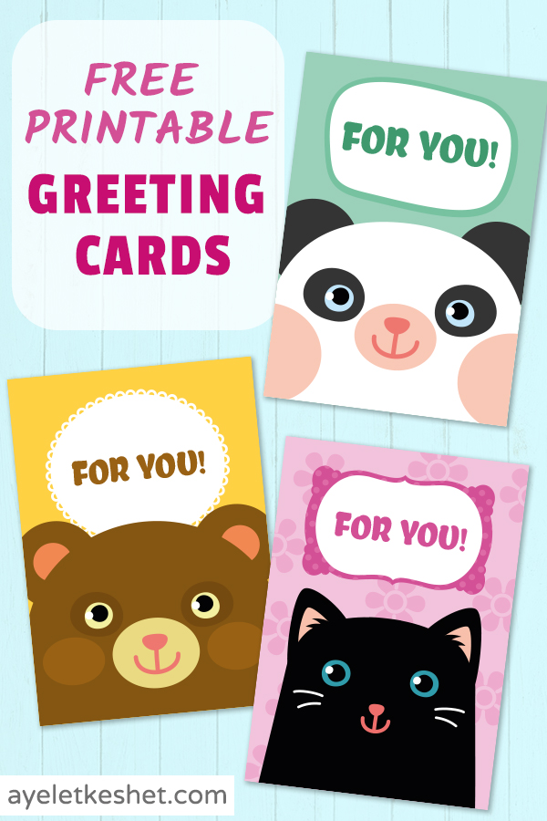 Free Printable Greeting Cards For Kids