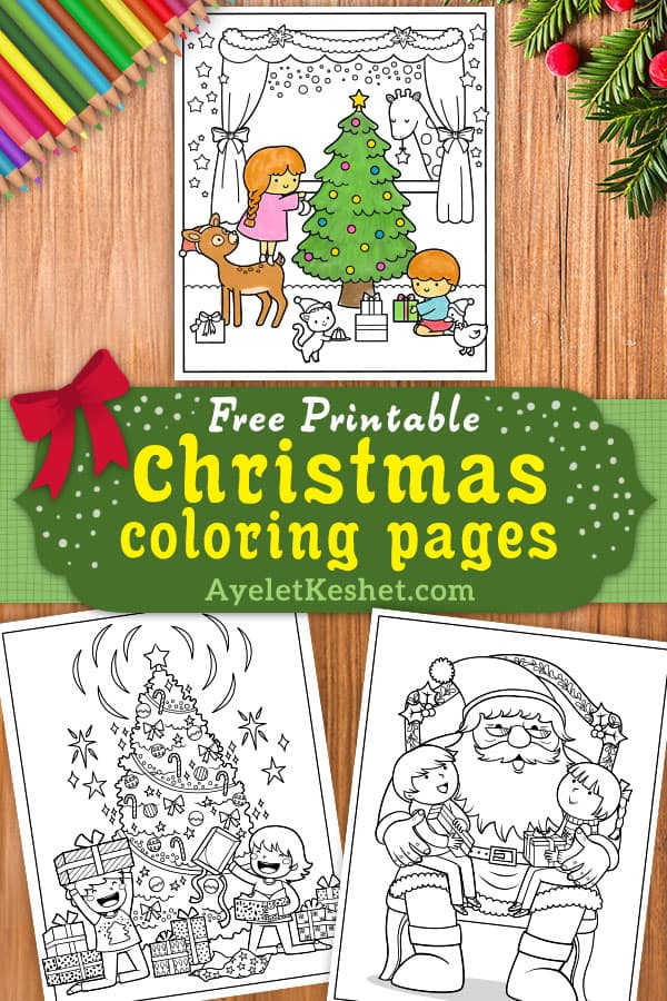 - Free Printable Christmas Coloring Pages For Kids - Ayelet Keshet