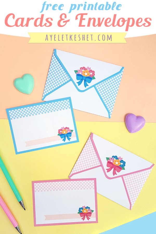 Cute Free Printable Cards For Valentine S Day Ayelet Keshet