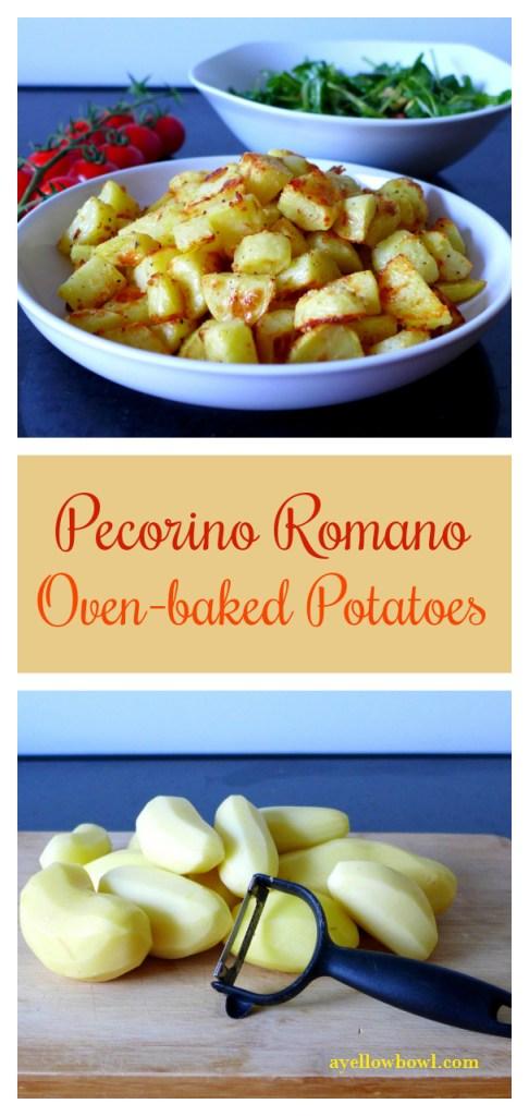 Pecorino Romano potatoes