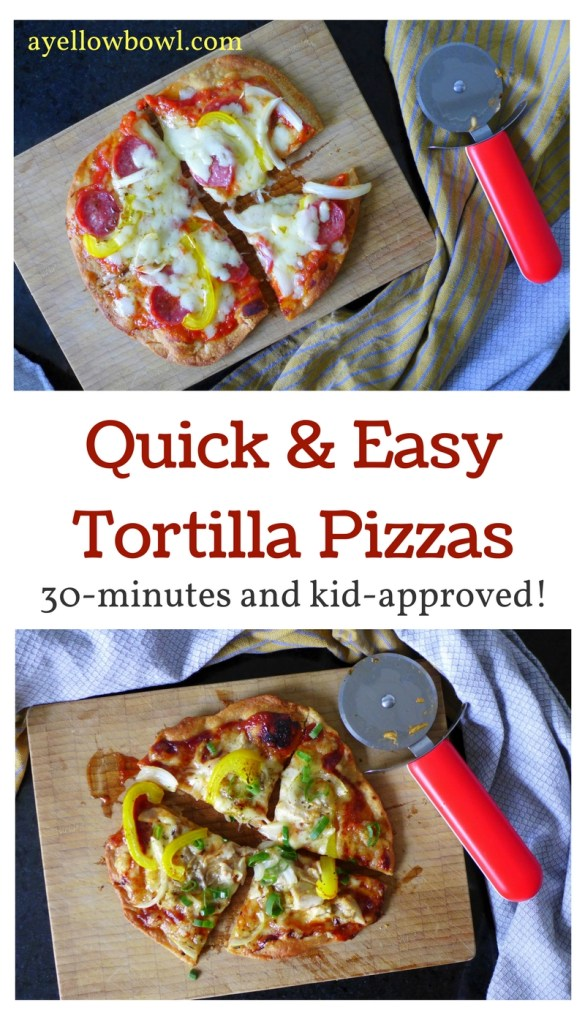 Quick & Easy Tortilla Pizza