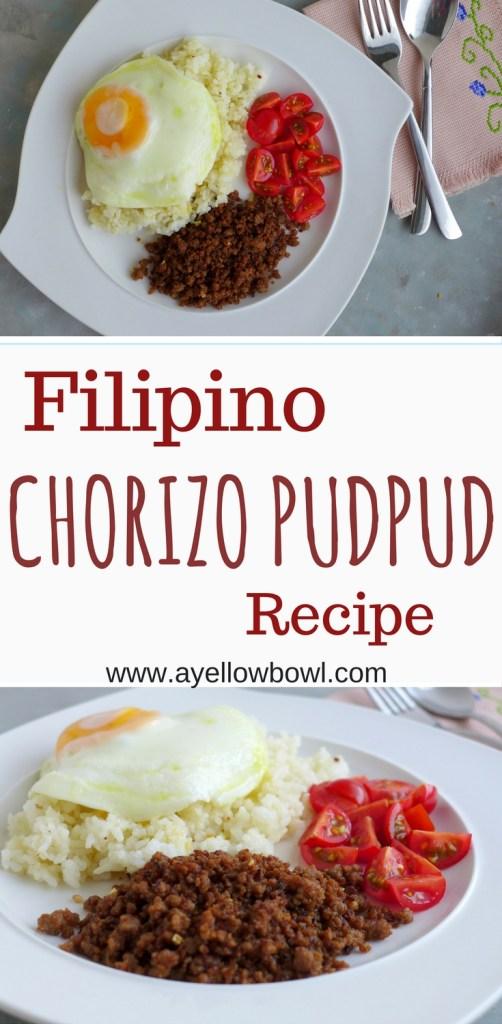 chorizo pudpud recipe