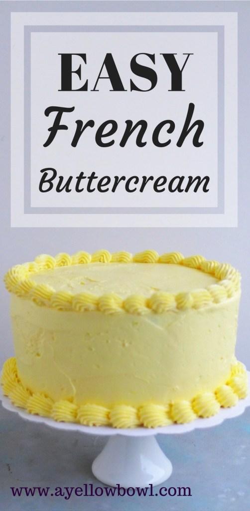 easy french buttercream