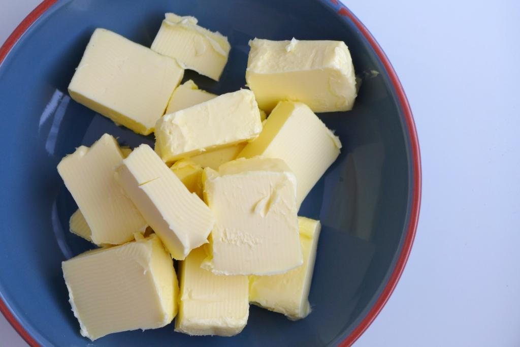 butter cut into cubes