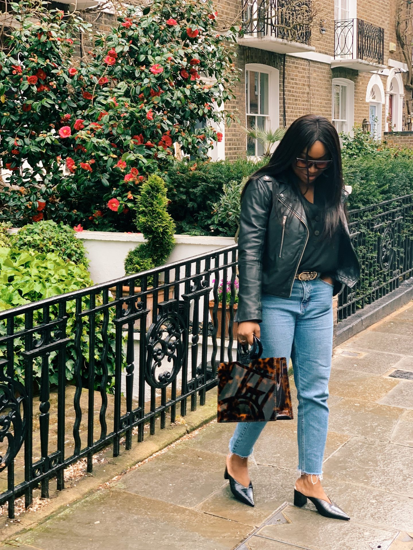Mum a Porter Ayesha Amato April Showers What to Wear Now Acrylic bag Topshop