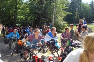 New Hampshire summer camp Merrowvista Voyageurs return home smiling