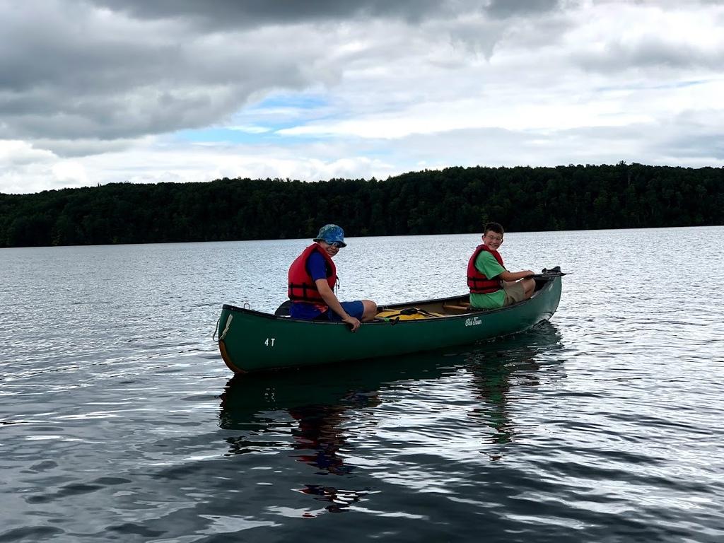 Explorer, miniwanca, trail, canoe, adventure