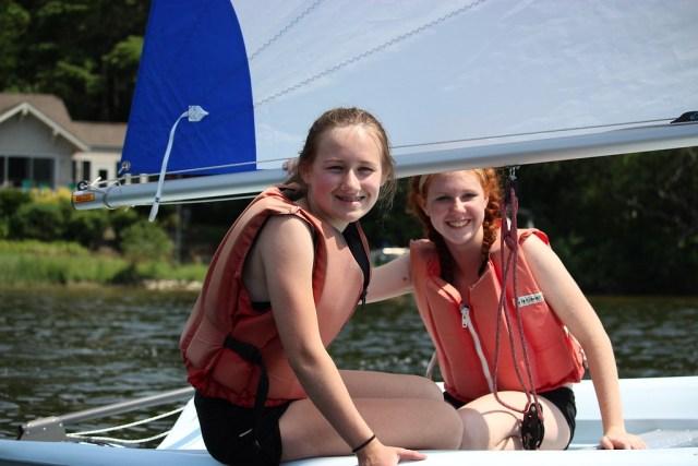 Miniwanca, Summer Camp, Michigan, sailing, sailboat, campers