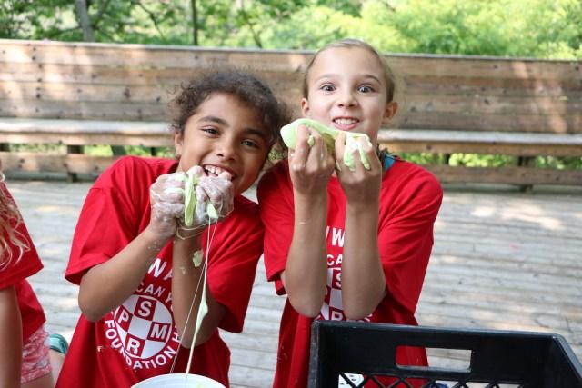Miniwanca, Girls Camp, Lake Michigan, Summer Camp, Slime