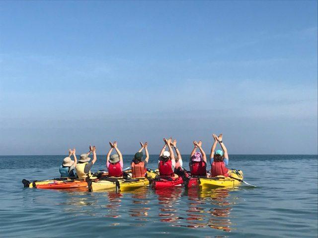Miniwanca, Lake Michigan, Kayak, Kayaking, Summer Camp, Michigan, Adventure Trips