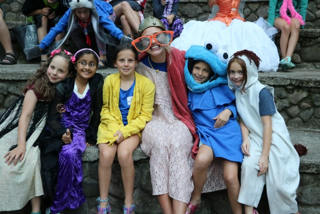 Miniwanca, Girls Camp, Summer Camp, Costumes, preventing homesickness