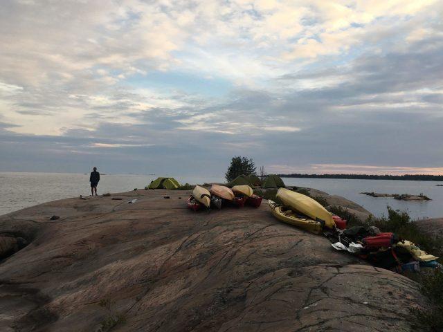 Boys Camp Four Trails Kayak Break 2018