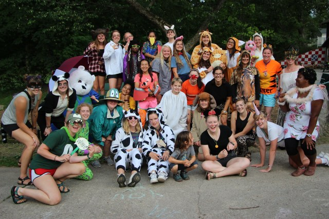 Miniwanca, safari, girls camp