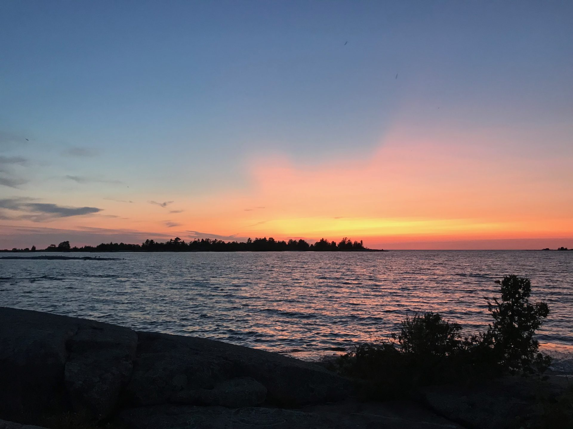 Four Trail Update Sunset
