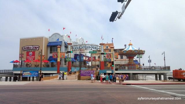 The Galveston Historic Pleasure Pier