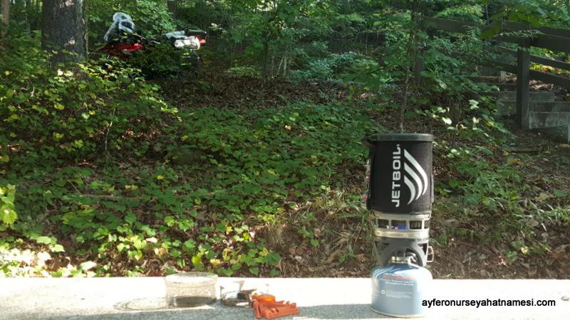 Jetboil Isıtıcımız – Kamp malzemeleri